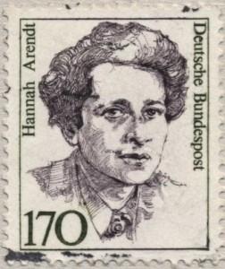 Stamp Hannah Arendt