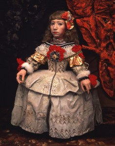 YASUMASA MORIMURA. Daughter of Art History (Princess A), 1990.