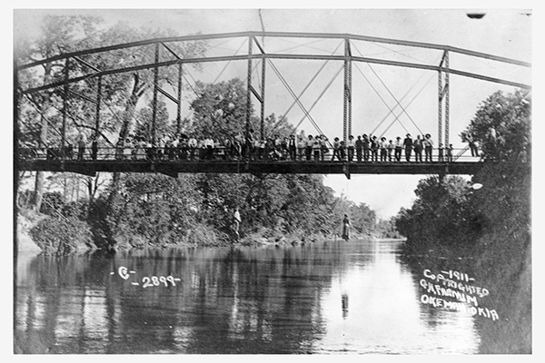 The Nelson Lynching of 1911 @ Yarbrough Crossing near Okemah