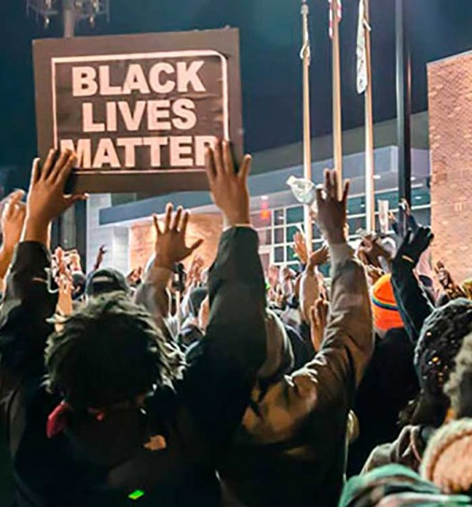 Black Lives Matter protest in Ferguson. Fuente: http://sgeproject.org
