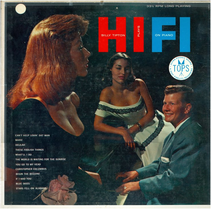 Billy Tipton plays hi-fi on piano