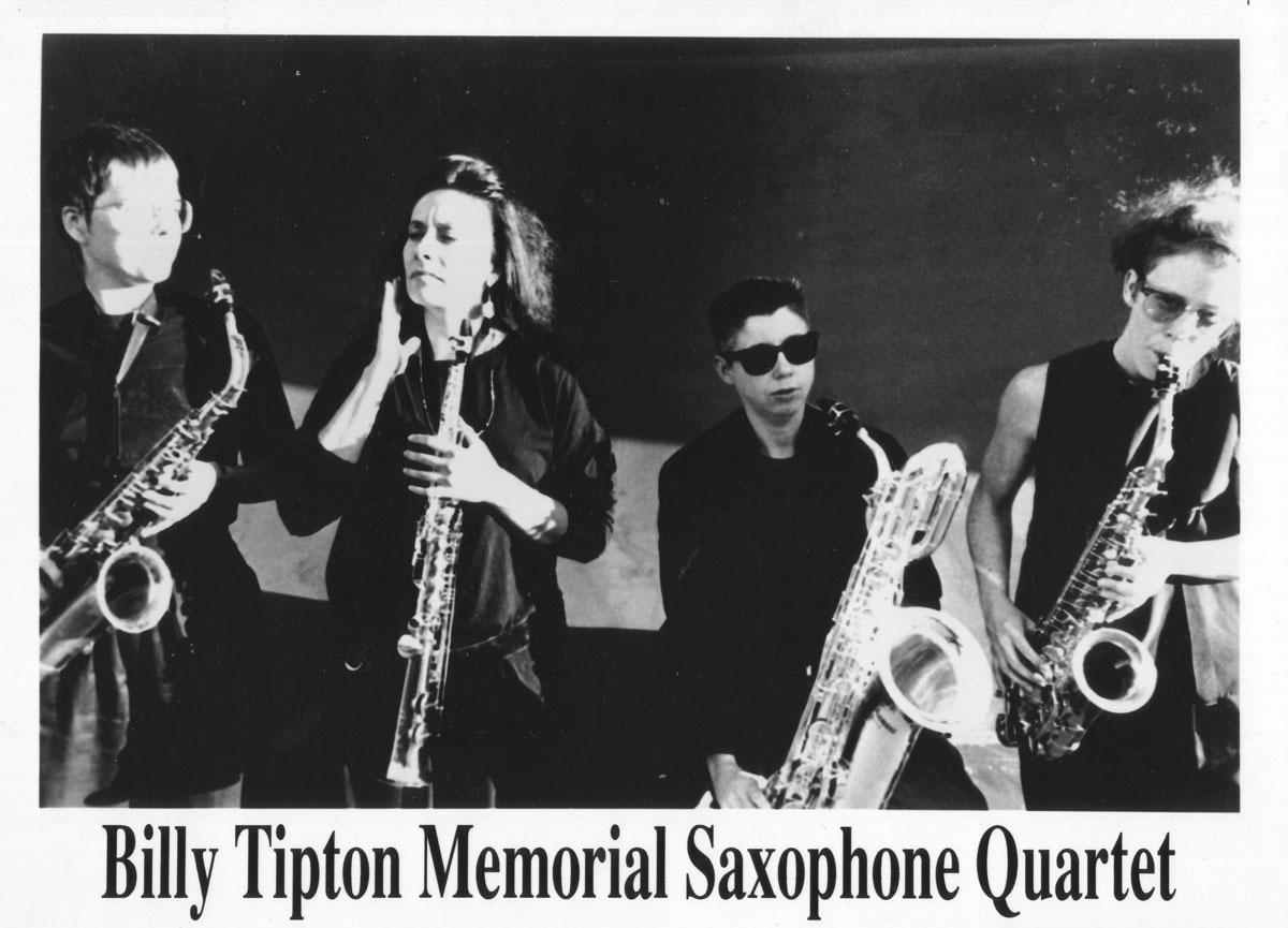 The Billy Tipton Memorial Saxophone Quartet