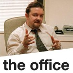 Ricky Gervais en The Office.