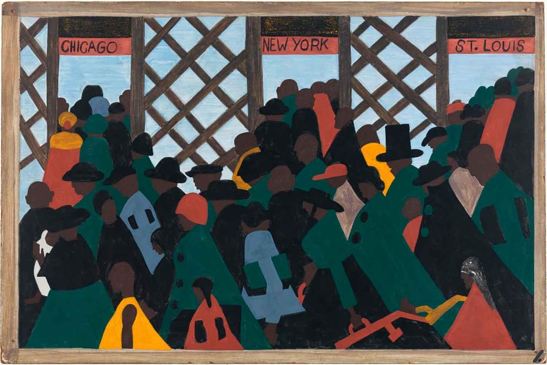 During the World War there was a great migration North by Southern Negroes. Durante la I Guerra Mundial los negros del Sur emigraron en gran número al Norte