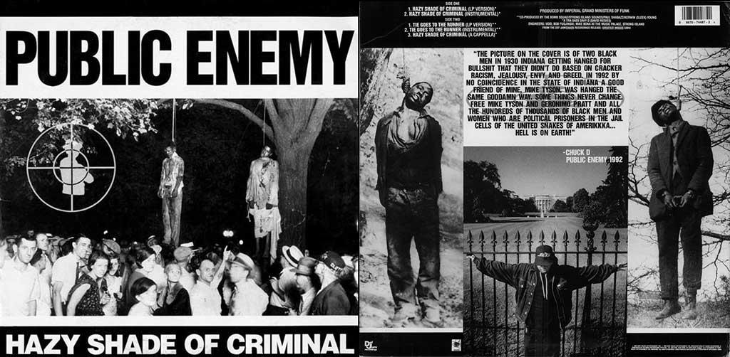 PUBLIC ENEMY. Hazy Shade of Criminal