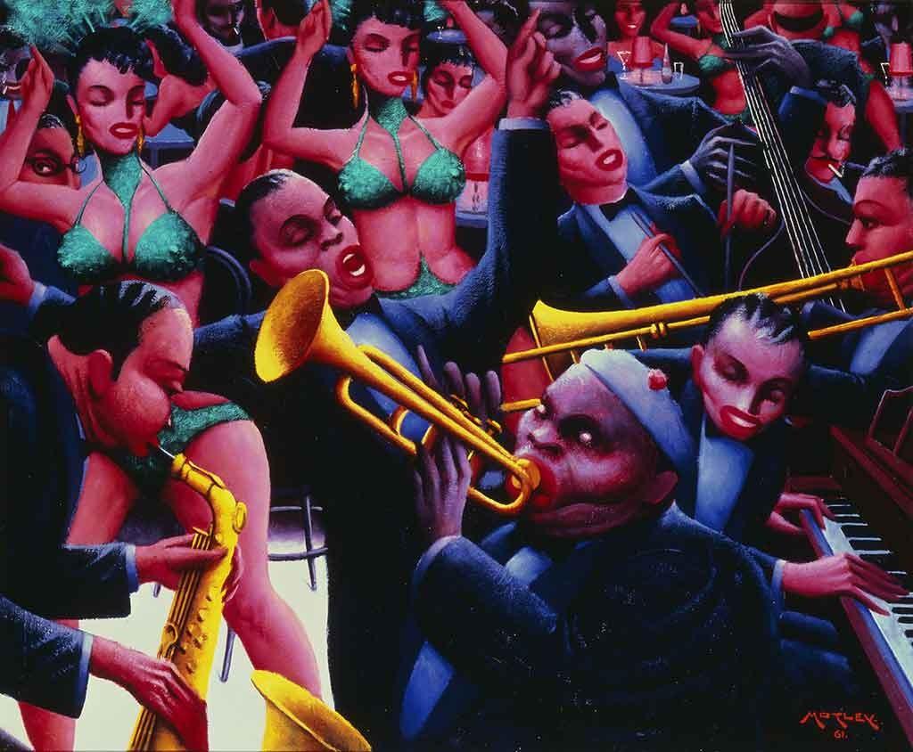 Archibald J. Motley, Hot Rhythm (1961)