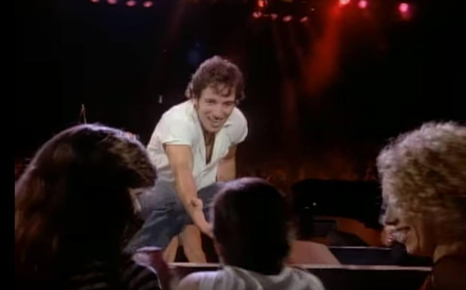 Del videoclip Dancing in the dark, Bruce Springsteen