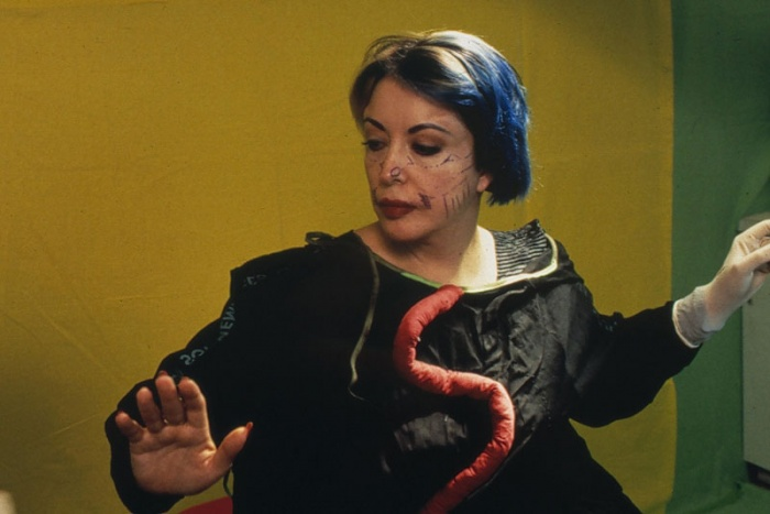 9th Surgery-Performance, New York, December 14, 1993. Cibachrome in diasec mount. 65 x 43 in