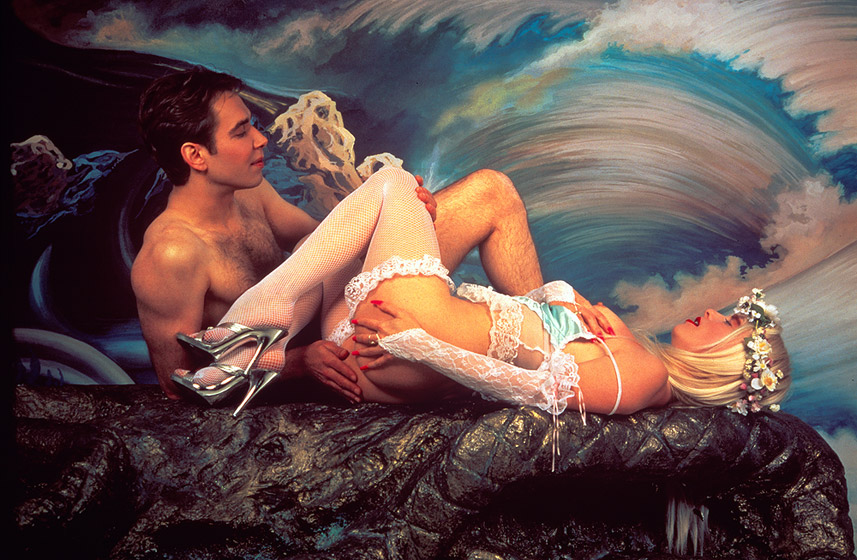 """""""In The Position Of Adam"""" by Jeff Koons"""