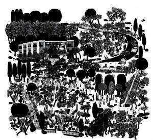"""""""Montjuic"""", de Francesc Ruiz. Fotografía cortesía del autor y Galería Espacio Mínimo."""